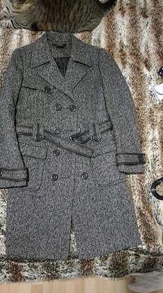 ada185c0590 Manteau Zara Taille euro L Marron et beige Large ceinture pour le porter  façon trench Grande. Vinted