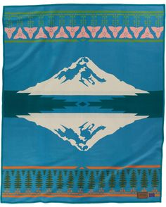 Oregon sesquicentennial blanket by Pendleton