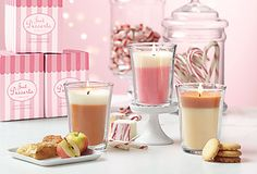 NEW! Just Desserts™ by PartyLite Scented Candle- Your gonna wanna eat them! SHOP AT www.partylite.biz/talisabanks