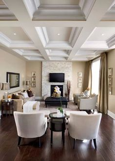 soffitto a cassettoni / coffered ceiling