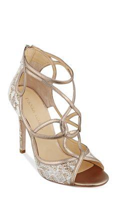 Baroque lace heels | #sponsored
