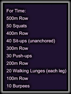 tabata rowing workout crossfit - Google Search
