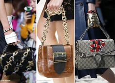 2e44cda41a Spring  Summer 2016 Handbag Trends  Bags with Chain Straps