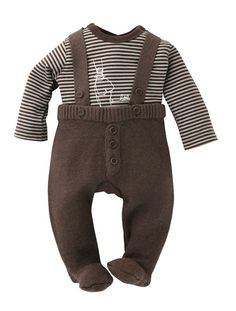 Baby Boy's 2-Piece Outfit CHOCOLATE