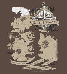 Camiseta Game Of Thrones na Reverbcity
