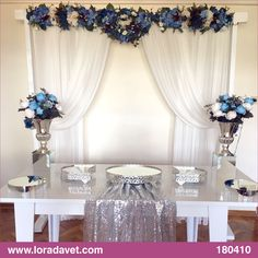 Promise, Engagement, Wedding ceremony, we are ready to realize your dreams . Wedding Cake Table Decorations, Engagement Party Decorations, Backdrop Decorations, Wedding Themes, Wedding Book, Wedding Day, Wedding Rituals, Wedding Ceremony Backdrop, Beautiful Wedding Rings