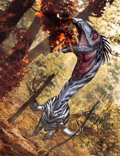 Therizinosaurus luis Rey