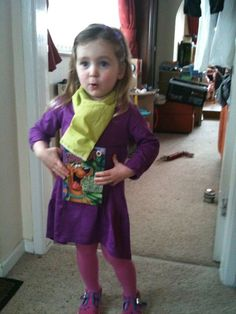 2011 World Book Day Daphney from Scooby Doo