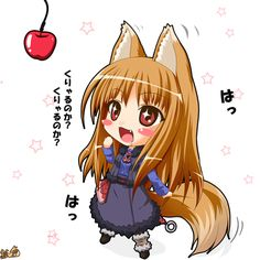 Image 3242: animated_gif apple horo spice_and_wolf spicy_wolf