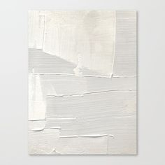 Relief an abstract, textured piece in white by Alyssa Hamilton Art Canvas Print by blushingbrushstudio White Canvas Art, Textured Canvas Art, Abstract Canvas Art, Diy Canvas Art, Canvas Art Prints, White Art, Modern Abstract Art, Texture Painting On Canvas, Textured Painting