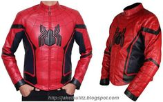 Jaket Kulit Spiderman Homecoming, Pesan online Tlp/WA: 081703402482 http://jaketkulitz.blogspot.com/2017/08/jual-jaket-kulit-spiderman.html