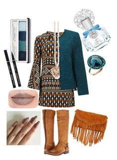 """""""Untitled #430"""" by sofia-boubou on Polyvore featuring Issa, Thomas Sabo, SUSU, Frye, White Stuff, Jeffree Star, Clinique, Vince Camuto and Annoushka"""