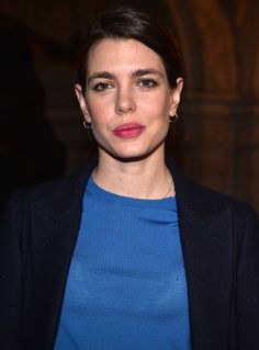 Charlotte Casiraghi attended the Stella McCartney show.   6-3-2017