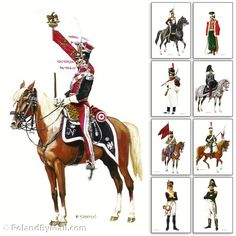 Postcards - Polish Napoleon Army Uniforms Series 6, Set 9 Greeting Cards & Stationary Sets - Greeting Cards, Uniform Postcards - By Polish Military Collectible - 644527906249 at Polart - PolandByMail