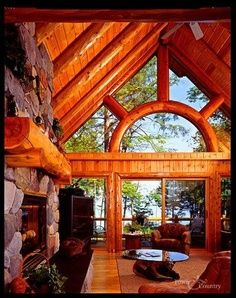 BEAUTIFUL LOG HOME INTERIORS - Google Search