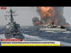 Fighting begins (Dec 26): thousand widespread US navy in South China Sea to confront the PLA Navy - YouTube