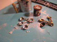 Studio E: Measure for Measure - tiny spoons from jewelery findings