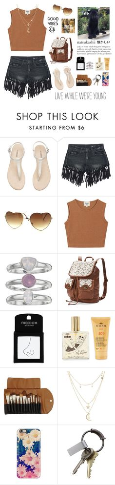 """""""it is what it is"""" by almafaa ❤ liked on Polyvore featuring H&M, Sans Souci, Samuji, Jennifer Lopez, Mudd, Topshop, Claudio Riaz, Charlotte Russe, Casetify and CB2"""