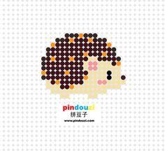 """Képtalálat a következőre: """"Hedgehog perler beads pattern"""""""