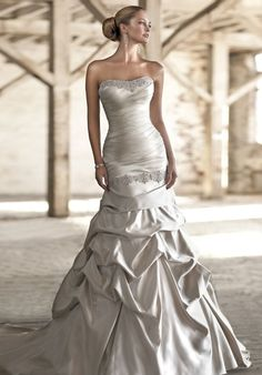 Check out this #weddingdress: D1237 by Essense of Australia via iPhone #TheKnotLB from #TheKnot