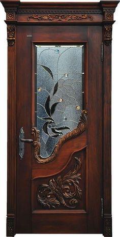 48 Unique Wooden Door Design Ideas