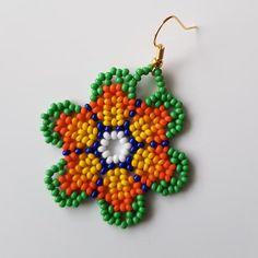 Beaded Necklace Patterns, Beaded Bracelets, Bead Earrings, Crochet Earrings, Beard Jewelry, Native American Earrings, Peyote Patterns, Beaded Ornaments, Diy Jewelry Making