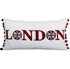 London Cushion, union jack, home decor, pillow
