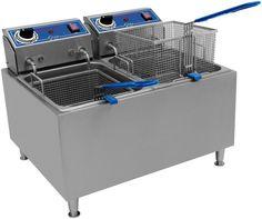 Globe Food Equipment Countertop Electric 32 LB Oil Capacity Fryer