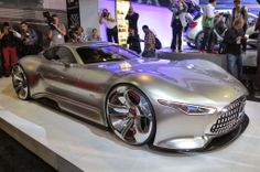 Everyone really seemed to like the Mercedes Gran Turismo concept.