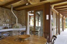Residência 1 Table, Furniture, Interior, House, Kitchen, Kitchen Interior, Modern, Home Decor, Dream Kitchen