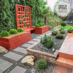 kertépítés, kerttervezés ötletek, gardendesign Sidewalk, Patio, Outdoor Decor, Gardens, Side Walkway, Walkway, Walkways, Pavement, Terrace