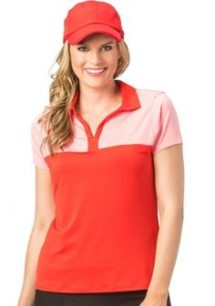 Unique, Pretty Colors are the highlight of the Nancy Lopez ladies golf collection just like this Assorted Colors Nancy Lopez Ladies & Plus Size PURSUIT Short Sleeve Golf Polo Shirts !