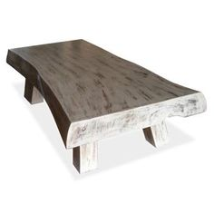 Coffee Table White Wash