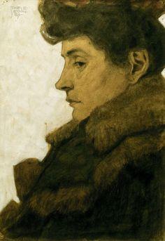 Egon Schiele - Marie Schiele