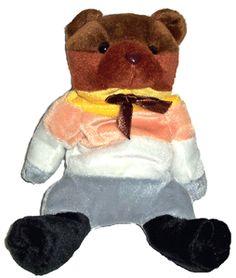 Bear Pride Beanie Bear