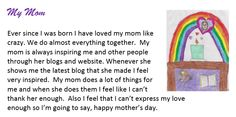 Mother's Day Moments Through the Eyes of our Children