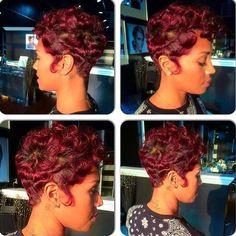 Short Red Head