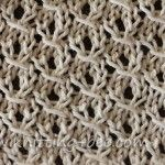 St. John's Wort Knitting Stitch Pattern Nice textured stitch for a scarf