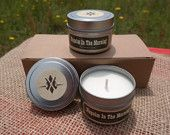 Napalm Scented Candles :  Set Of Two Funny Gift, Soy Candle, Gift Box - pinned by pin4etsy.com