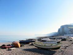 P4 #BattlePhoto Vamos a la playa... à Yport pour une partie de pêche ! #Normandie