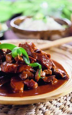 Babi pangang - gemarineerd varkensvlees - Boodschappen