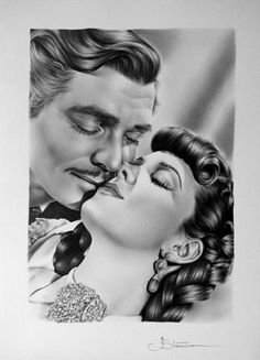 Classics Are Forever - Clark Gable & Vivien Leigh ''Gone with the Wind''