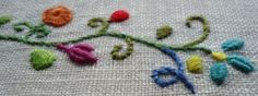 Basic Embroidery Stitches great results.