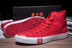 0487db03de15a2 2015 Limited Edition Red Flash Converse High Tops Chuck Taylor All Star  Canvas Sneakers  converse