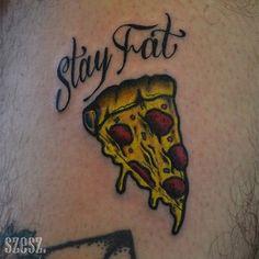 pizza taturday stay fat