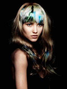 Hair art by Angelo Seminara