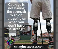 Only you can tell you whether or not to continue. #courage #nevergiveup #roosevelt #bartism http://emaginesuccess.com