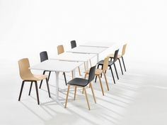 Aava transforms an essential and efficient form to evocative through the texture and warmth of wood. Soft curves yield a contemporary silhouette that is..