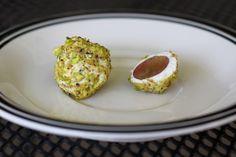 Pistachio and Goat Cheese Grape Truffles | Sandy a la Mode