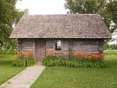 Laura Ingalls Wilder's house in the big woods